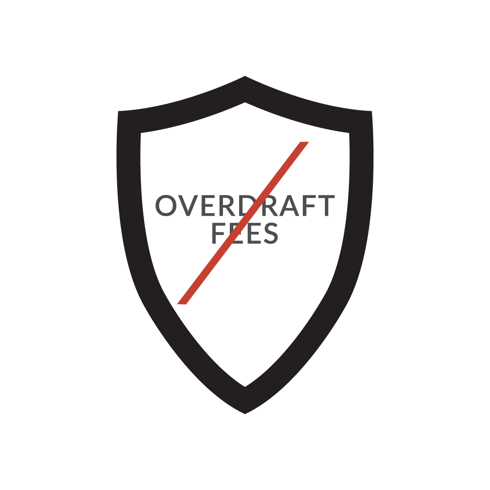 over draft fees icon
